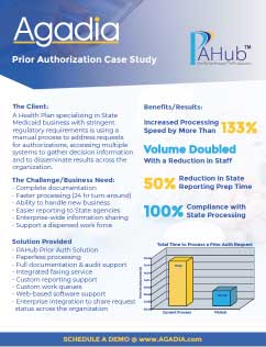 Prior Authorization Increased Processing Speed